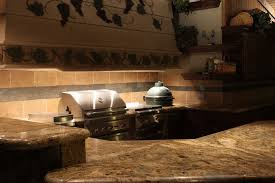 Outdoor Kitchen Lighting Ideas by How To Install U0027big Green Egg U0027 In An Outdoor Kitchen Counter Youtube