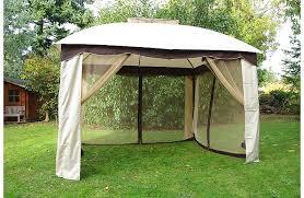 tonnelle de jardin avec moustiquaire tonnelle avec rideaux et moustiquaire l 300 x l 365 x h 295 cm
