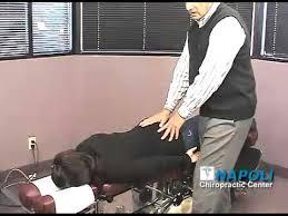 chiropractic drop table technique thompson drop table technique napoli chiropractic center youtube