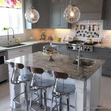 grey kitchen decor ideas remodelaholic grey and white kitchen cabinet ideas