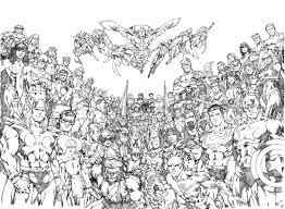 marvel avengers online coloring pages