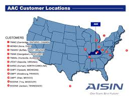 aac map aisin automotive aac information