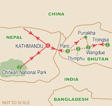 Map Of Nepal And China by Bhutan And Nepal September 2017 Craig Travel