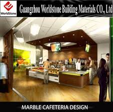 modern marble cafeteria counter table sets design buy cafeteria
