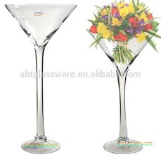 Martini Glass Centerpieces Wholesale Selling Clear Martini Glass Vases Centerpieces Buy