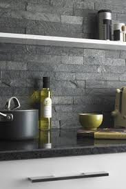 The  Best Slate Backsplash Ideas On Pinterest Stone - Slate kitchen backsplash