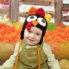 thanksgiving turkey hat children s hat photography props chiken cap handmade crochet