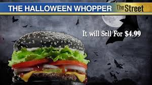 why the black whopper turns your green