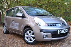 nissan note used nissan note 1 6 se 5 doors mpv for sale in chandlers cross