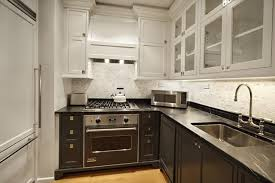 two tone cabinets contemporary kitchen the renovated home