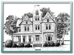 Queen Anne House Plans Historic | house queen anne plans historic 3d vintage modern blueprints small