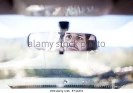 rearview haircut photo gallery rear view mirror man stock photos rear view mirror man stock
