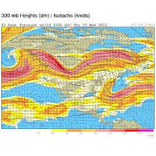 Jet Stream Map Jim Woodmencey Mountain Weather Page 14