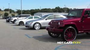 slammed jeep liberty hotcarstv stuntmania 2014 maybach tntoyz donk g body youtube