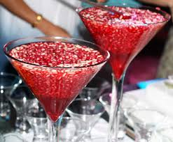 martini pomegranate pomegranate drink with pine nuts and rose water taste of beirut