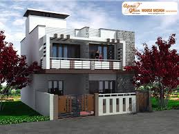 Duplex Home Plans 3 Bedrooms Duplex House Design In 117m2 9m X 13m This Is A