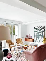 Midcentury Modern Colors - mid century modern apartment design filled with african art digsdigs