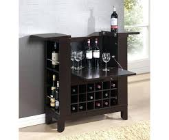 bar table with wine rack bronze oak finish pub designs s furniture