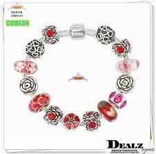 crystal glass bracelet images High quality silver 925 charms bracelets european crystal glass jpg