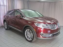 lincoln 2017 crossover 2017 used lincoln mkx reserve awd at north coast auto mall serving
