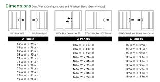 sliding glass door size standard sliding glass door width saudireiki