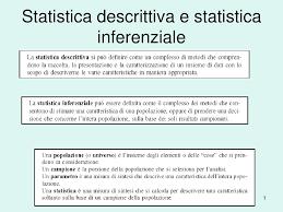 statistica descrittiva dispense statistica descrittiva e statistica inferenziale appunti di