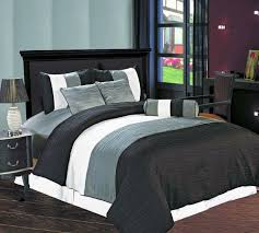 Silver Comforter Set Queen Buy Best And Beautiful Bedding Sets On Sale Black And Silver