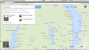 Google Maps Search Along Route by Search For Lodging And Restaurants Using Google Map Youtube