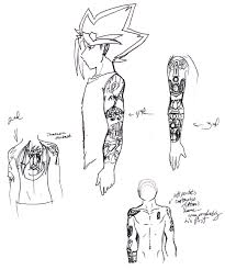 yugi tattoo design chart by golden dragon on deviantart