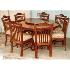 solid oak round dining table 6 chairs round oak dining table for 6 dayri me