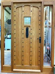 Solid Timber Front Doors by Traditional Solid Oak Front Door Cottage Style Made To Measure