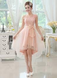 bridesmaid dresses 2015 class one shoulder lace bowknot bridesmaid dress 11185113