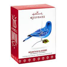 amazon com hallmark keepsake 2017 beauty of birds mountain