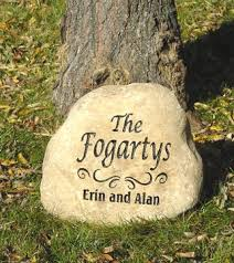 personalized garden stones engraved garden stones personalized garden rocks and memorial
