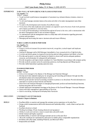 supervisor resume exles floor supervisor resume sles velvet