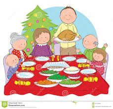 thanksgiving dinner pictures clip art christmas clipart family dinner pencil and in color christmas