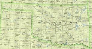 Map Of Us States And Cities by Oklahoma Outline Maps And Map Links