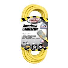american contractor 25 ft 12 3 sjeo outdoor heavy duty t prene