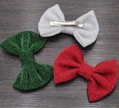 christmas hair bows 10pcs lot christmas hair bows with clip hair accessories 4