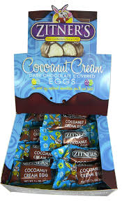 zitner s butter eggs zitner s cocoanut eggs 24ct blaircandy