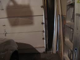 Exterior Door Insulation Strip by Diy 3 Garage Door Weatherstripping Woman With A Hammer
