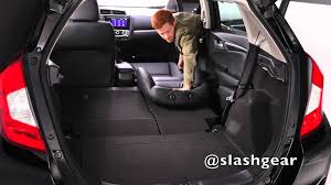 2013 Honda Fit Interior 2015 Honda Fit Cargo And Rear Seat Options Youtube