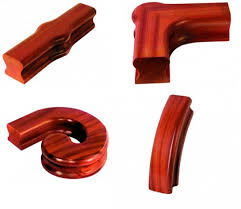Banister Fittings Dark Hardwood Staircase Parts Shaw Stairs Ltd
