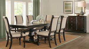 wood dining room sets dark wood dining room sets cherry espresso mahogany brown etc
