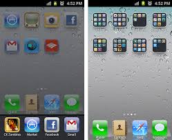 make android look like iphone how to make your android galaxy s look like iphone ios with