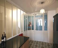 verriere interieur cuisine verrière intérieur bois cuisine meubles et boiseries