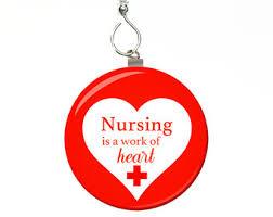 nursing ornament etsy