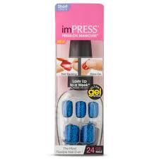 kiss impress press on manicure nails short 1 20 of 985998 items