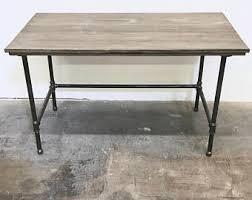 Modern Rustic Desk Modern Rustic Desk Etsy