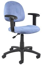 Light Blue Leather Chair B326 Be Boss Posture Back Task Chair In Light Blue Microfiber